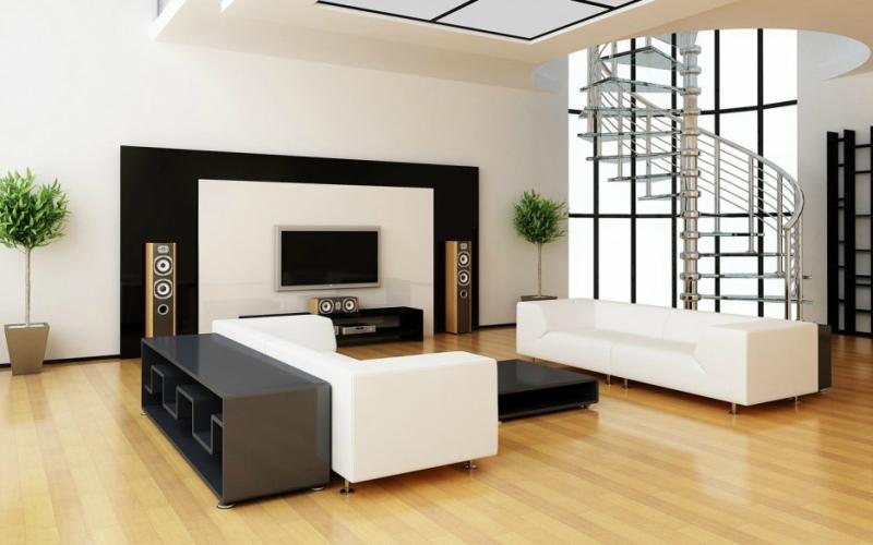 Дизайн интерьера в светлых оттенках фото 18