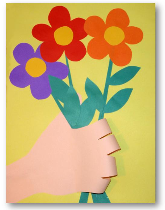 Картинка, открытки для бабушки из бумаги и картона