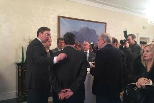 Сербия, Белград, СМИ, Вучич