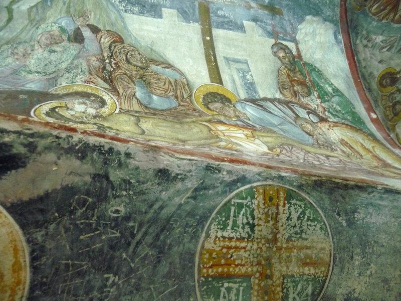 Росписи часовни-усыпальницы