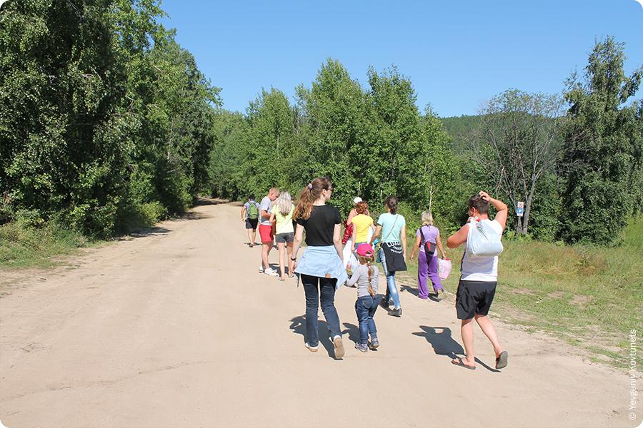 пешком в Монахово, Чивыркуйский залив, Байкал