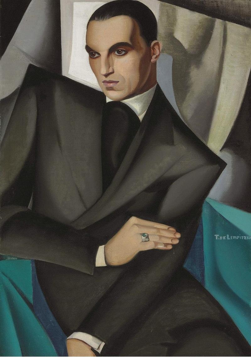 1925 Портрет маркиза Сомми