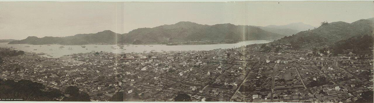 Нагасаки. Общий вид