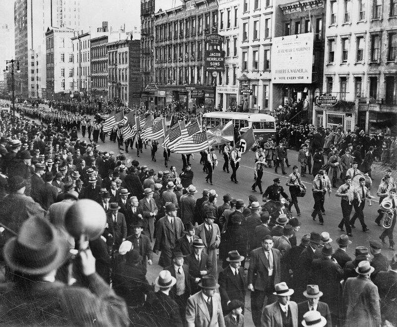 1939 - German American Nazi's NY.jpg