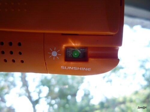 """""""КОС-517"""" - индикатор заряда от солнца"""