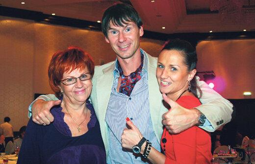 Мама и сестра всегда поддерживали Егора Титова в трудную минуту