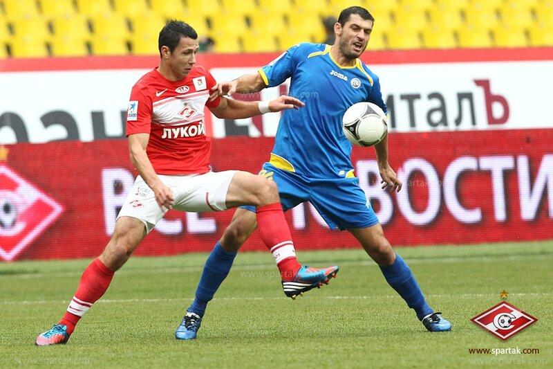 «Спартак» vs «Ростов» 3:1 Премьер-лига 2012-2013 (Фото)