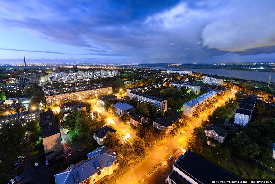 Новосибирск с высоты (лето 2012)
