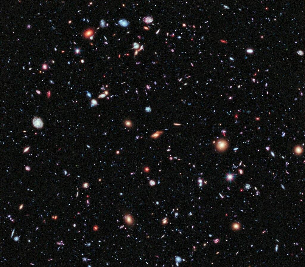5500 галактик на одной фотографии от НАСА