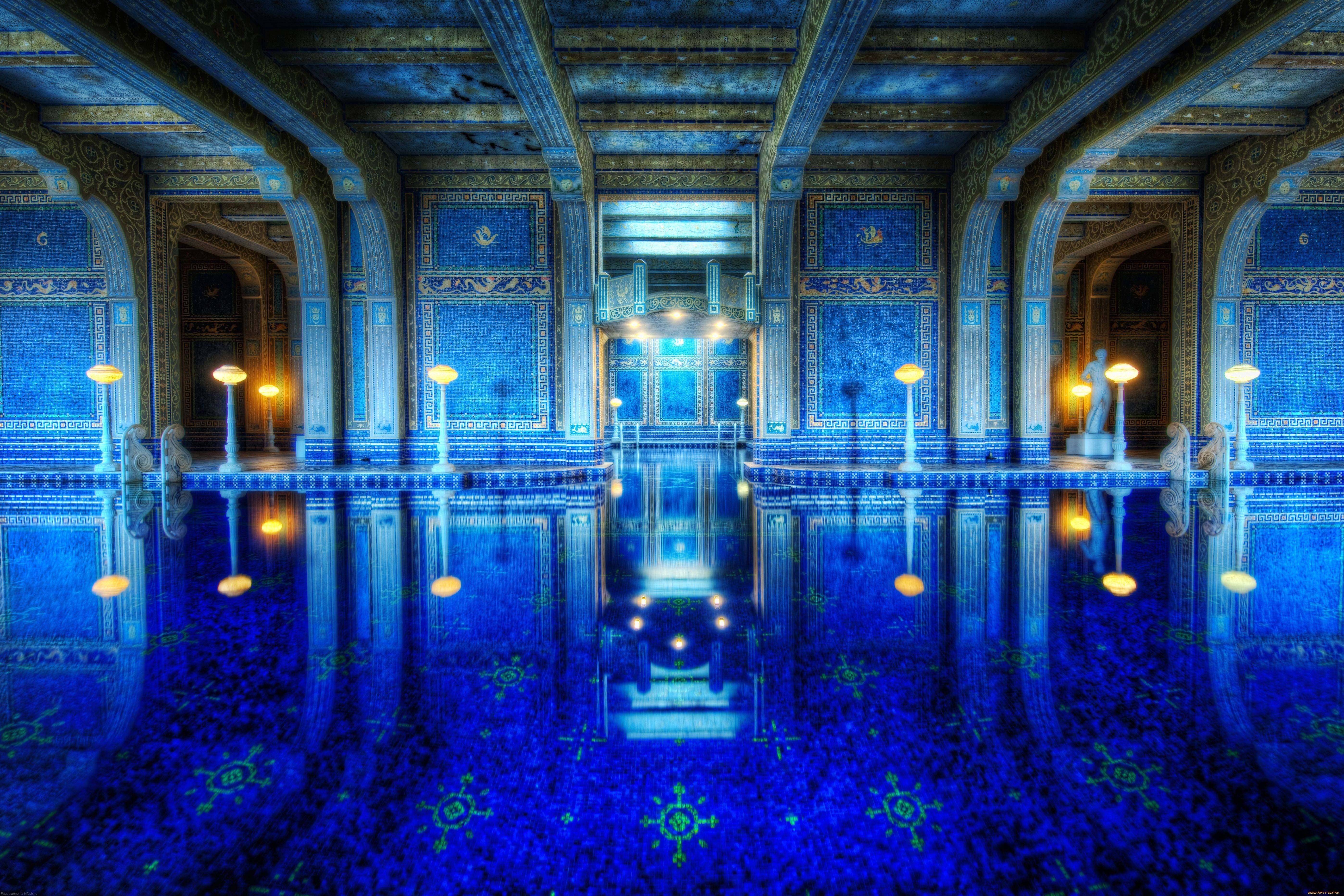 hearst castle 39 s swimming pool absolutely breathtaking pics