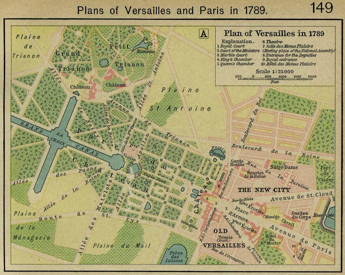 """Версаль сооружался под руководством Людовика XIV с 1661 года, и стал своеобразным памятником эпохи  """"короля-солнца """"..."""