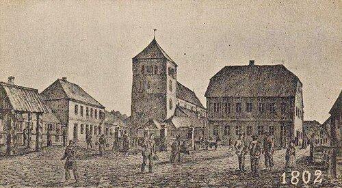 Церковь в 1802 г.