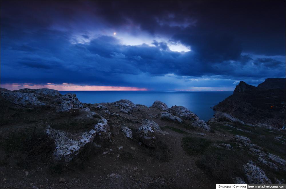 Балаклава вечернее фото