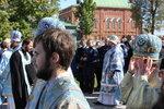 Партриарший молебен перед чудотворным Образом Пресвятой Богородицы Смоленская в Богоявленском монастыре и крестный ход