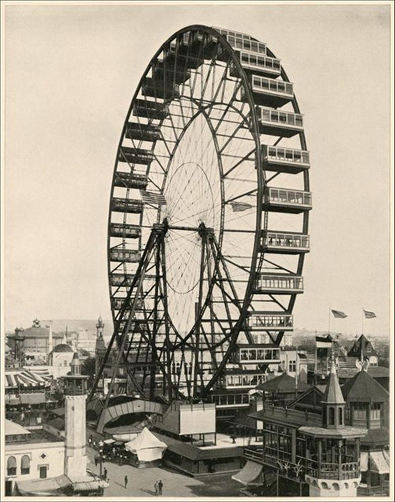 Как было изобретено колесо обозрения