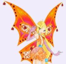 Крылья волшебниц winx!