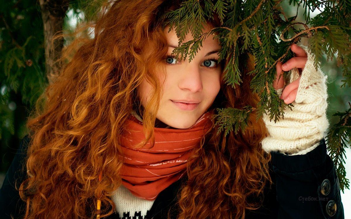 рыжие и кучерявые девушки приличные фото