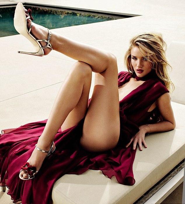 Rosie Huntington-Whiteley | Роузи Хантингтон-Уайтли голая, фото в журнале GQ 2011