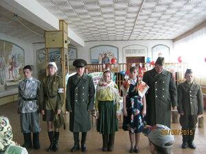 9 мая 2015 года. Праздничный концерт в Рябчинском СДК.