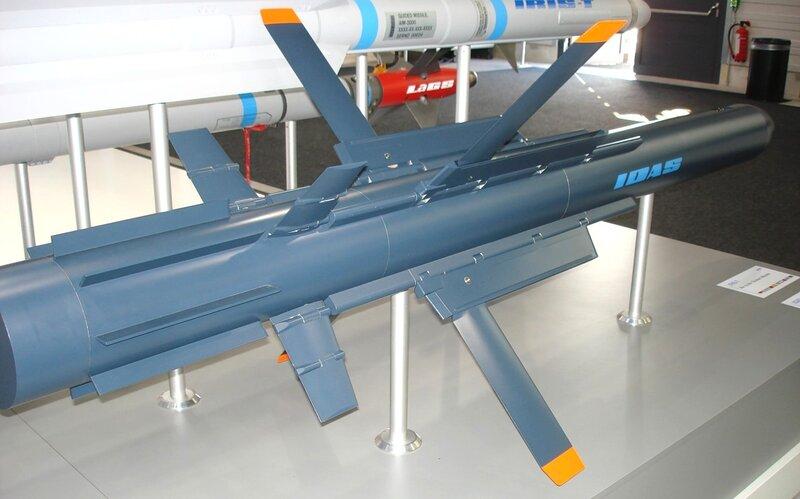 Управляемая ракета IDAS
