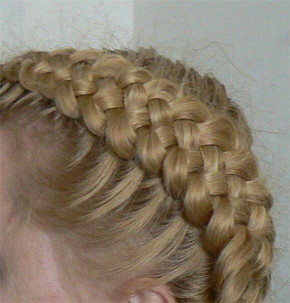 Артикул: 601199450.  Автор: Vora. схема плетения косички колосок.