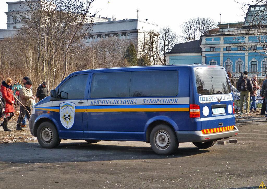 Volkswagen Transporter T5 Криміналістична лабораторія