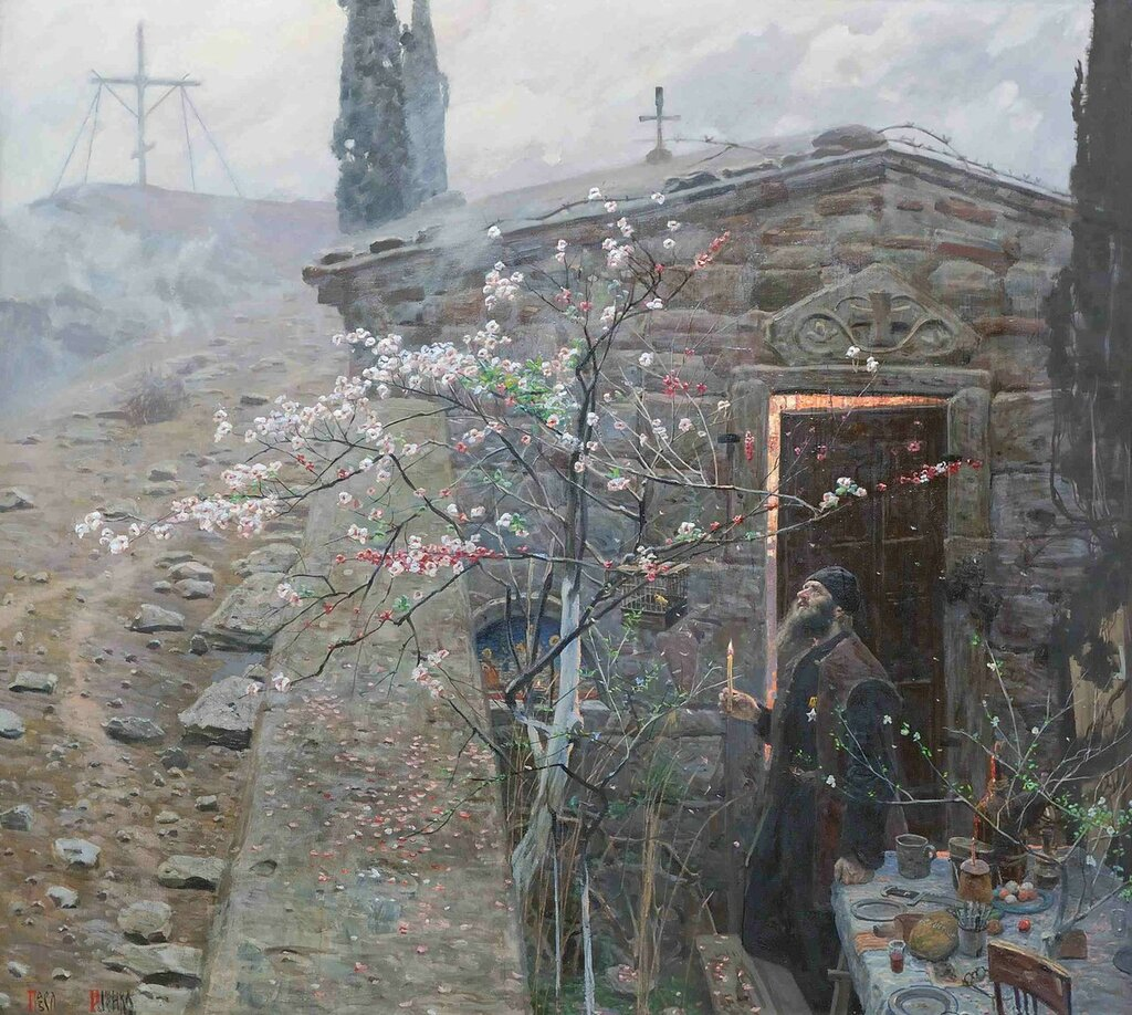 Павел Рыженко - Пасха, 1970 г. // Pavel Ryzhenko - Easter, 1970