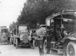 Автомобили, принадлежащие императорской фамилии.
