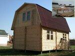 Фундамент на винтовых сваях для деревянного дома.JPG