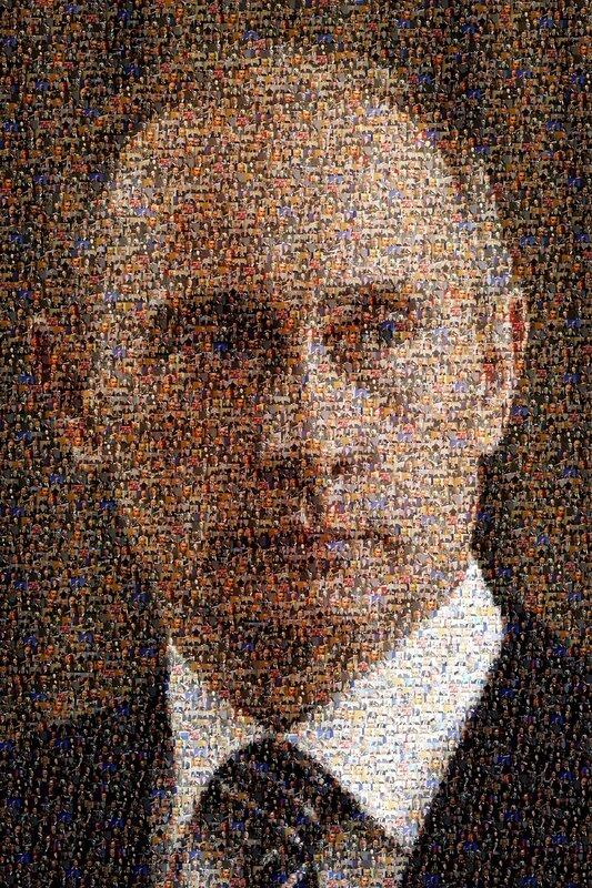 Путин в портретах