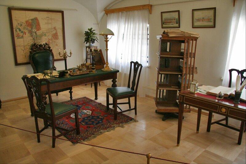 Гатчинский дворец, Кабинет управляющего