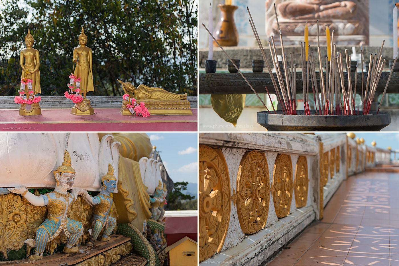 """Фотография 18. В """"храме"""" на вершине горы. Отпуск в Краби во время путешествия по Таиланду"""
