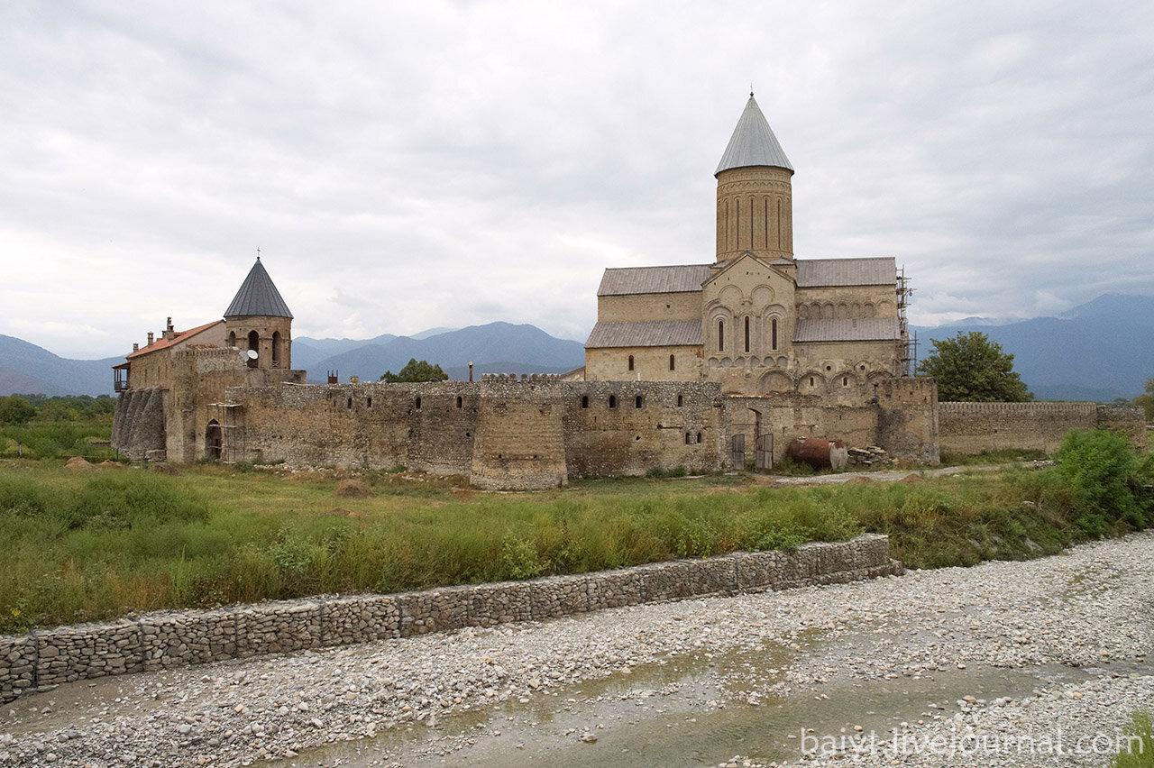 Вид на монастырь Алаверди.