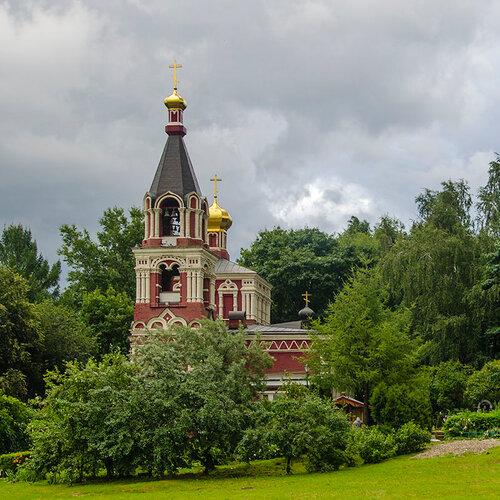 Храм Параскевы Пятницы в Качалове. (Москва, Бутово)