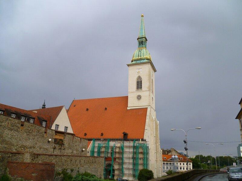 Братислава, собор Святого Мартина (Bratislava, St. Martin's Cathedral)