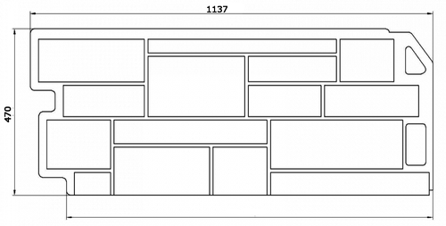 Схема цокольного сайдинга под камень - FineBer