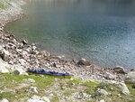 Лодка на Черном озере
