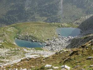 два озера под Черным Муруджинским
