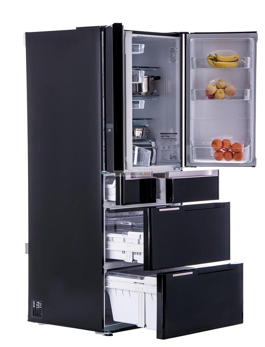 большие холодильники Hitachi - сделано в Японии - магазин в Краснодаре