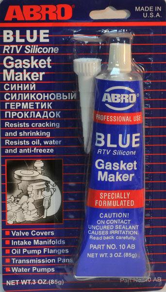 Герметик Abro синий 85 гр. (до 260°С)
