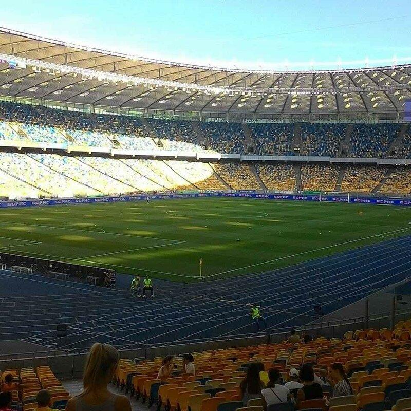 Олимпийский Стадион Киев.
