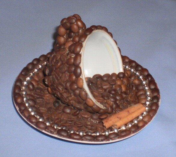Работы из кофейных зерен своими руками фото и описание