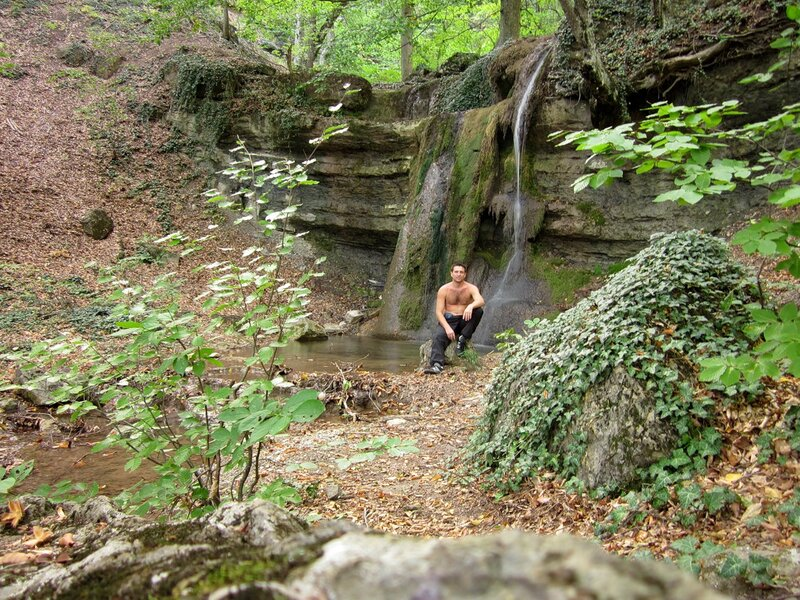 У водопада на реке Сотера