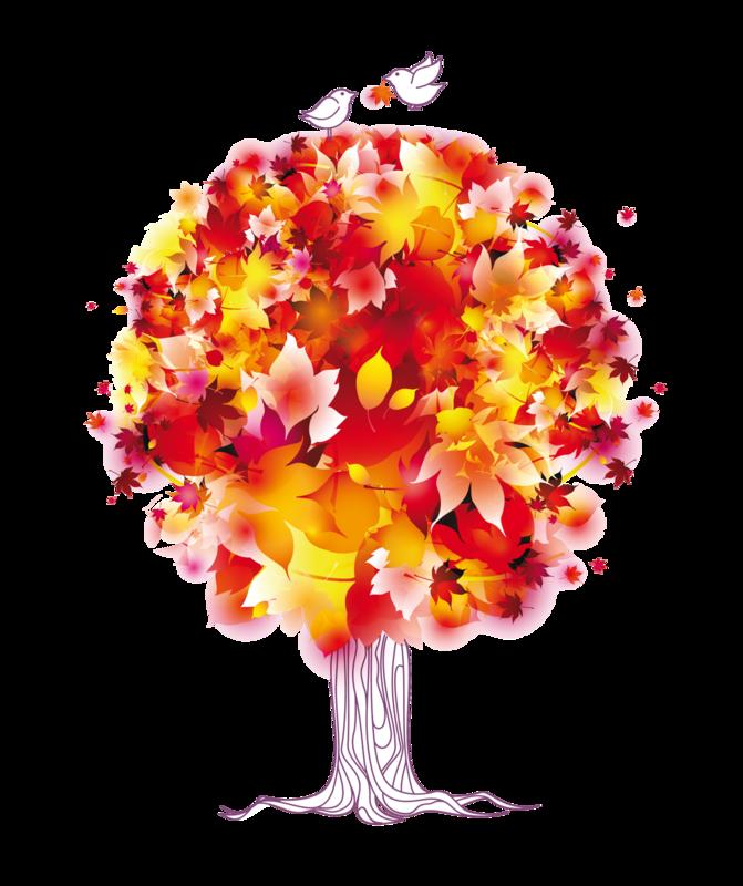 Клипарт осенний - желтые листья,ветки . Обсуждение на LiveIn…