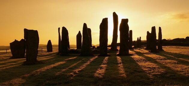 Мегалиты Калланиш. Шотландия