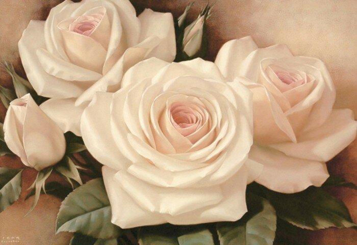 Любить и чувствовать цветы. Игорь Левашов
