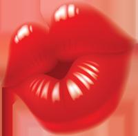 Рисунок губы и язык - b955