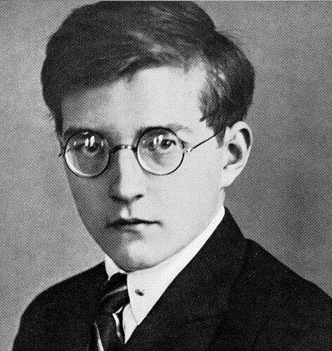 Young Dmitri Shostakovich (1906 – 1975)in 1925, Молодой  Дмитрий Шостакович (1925 год)