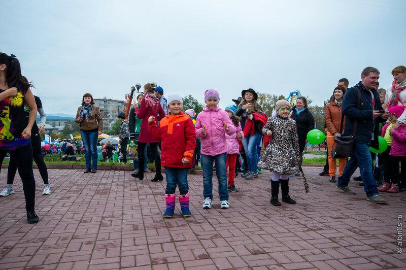 Парад профессий в парке Крылатко