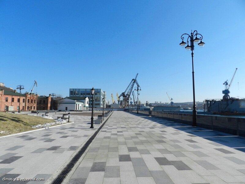 Набережная Цесаревича. 1-декабря-2012г